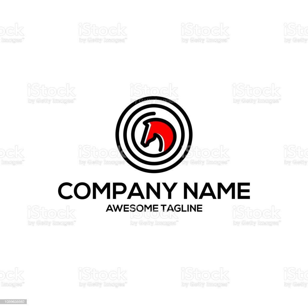 Simple Horse Head Logo Animal Symbol Vector Illustration On White Background Stock Illustration Download Image Now Istock