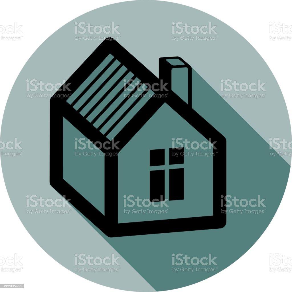 Simple House Detailed Vector Illustration Property Developer ...