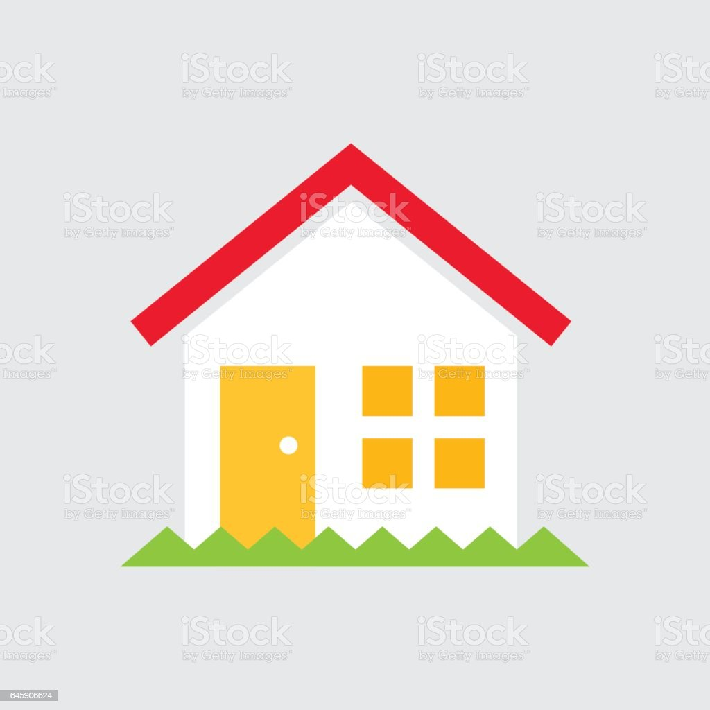 Simple House Vector Illustration Stock Vector Art & More ...