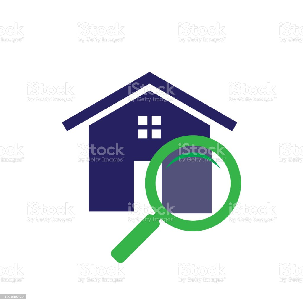 Apartment Search App: Simple Housing And Real Estate Icon Search For Web Icon Or