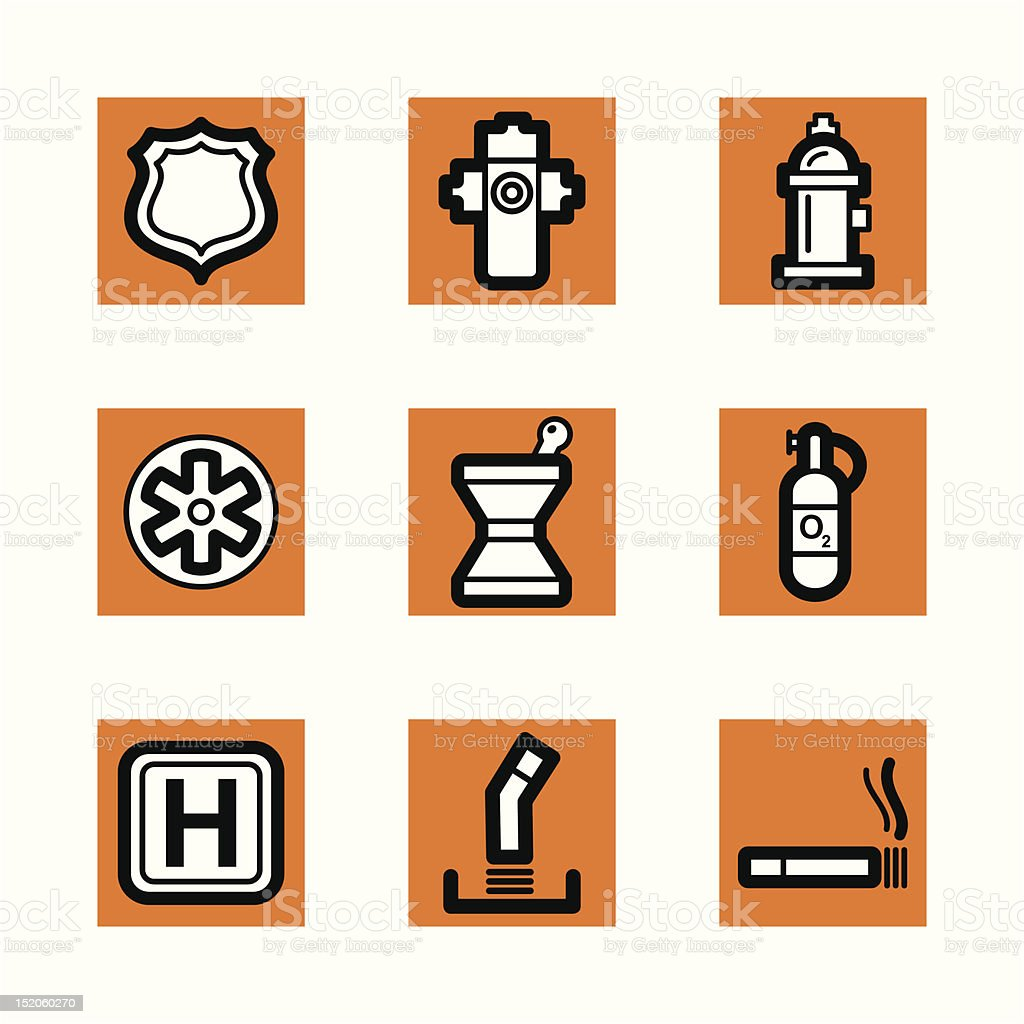 Simple Icons royalty-free simple icons stock vector art & more images of ashtray