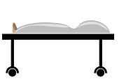 Simple Illustration, Death Body