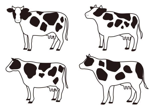 牛 イラスト おしゃれ