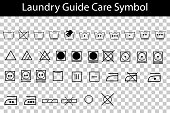 simple laundry guide symbol