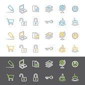 istock Simple Line Icon Set 98331186
