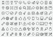 Simple Line Icons Set 1