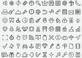 Simple Line Icons Set 2