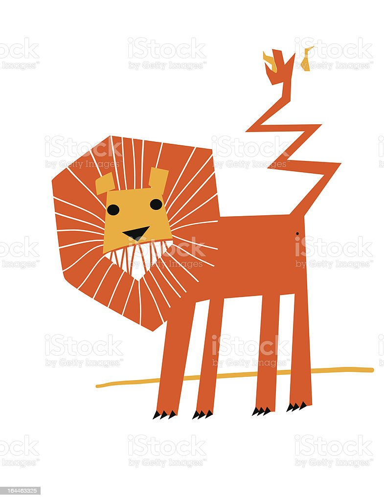 simple lion royalty-free simple lion stock vector art & more images of animal