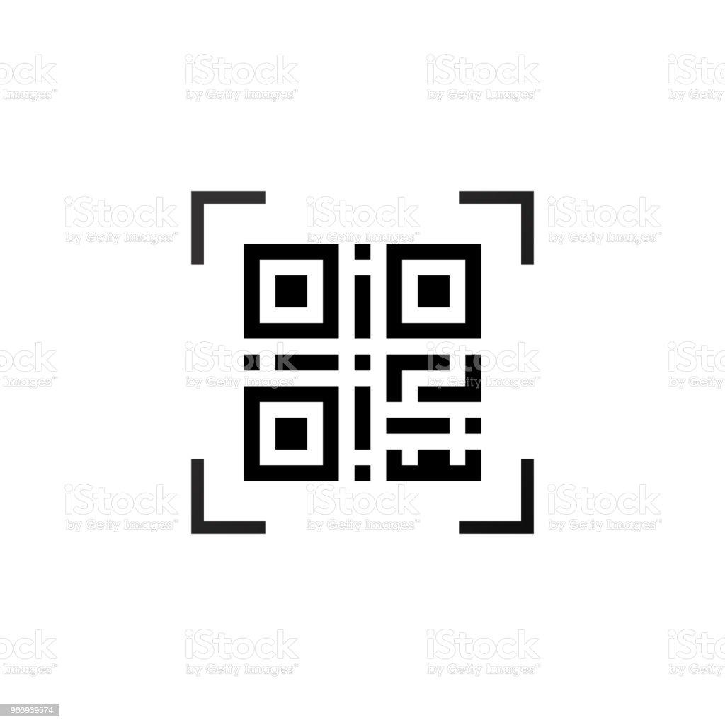Simple machine-readable qr code