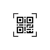 Simple machine-readable qr code