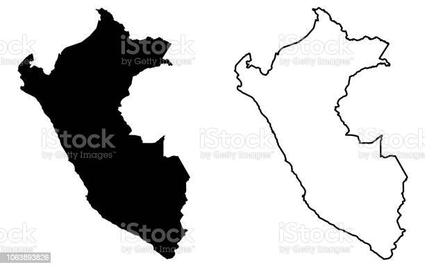 Simple map of peru vector drawing mercator projection filled and vector id1063893826?b=1&k=6&m=1063893826&s=612x612&h=lh07tpdxpn 8ldgqgnh9 9pgrcjcfcf y teabkxuh4=