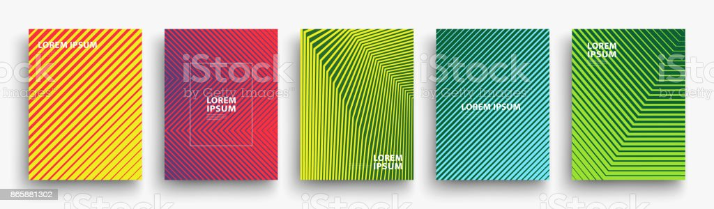 Simple Modern Covers Template Design vector art illustration