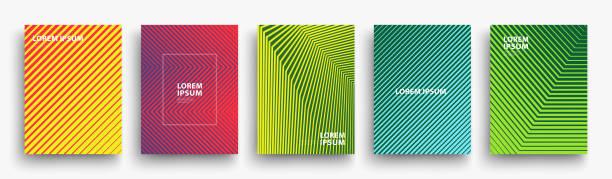 Simple Modern Covers Template Design vector art illustration