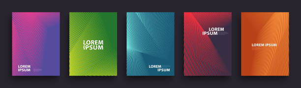 Simple Modern Covers Template Design Simple Modern Covers Template Design. Set of Minimal Geometric Halftone Gradients for Presentation, Magazines, Flyers, Annual Reports, Posters and Business Cards. Vector EPS 10 diagonal stock illustrations