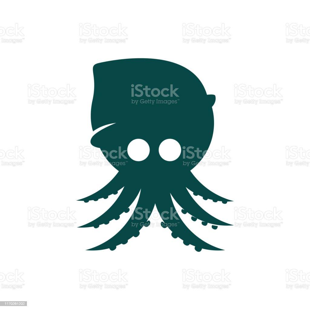 simple modern octopus squid logo design vector illustrations stock illustration download image now istock https www istockphoto com vector simple modern octopus squid logo design vector illustrations gm1170261202 323764658
