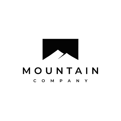 Simple Modern Mountain