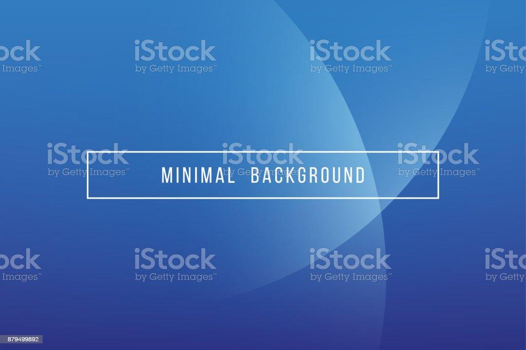 Simple Navy Blue Minimal Modern Elegant Abstract Vector Background vector art illustration