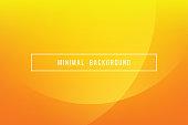 Simple Orange Minimal Modern Elegant Abstract Vector Background