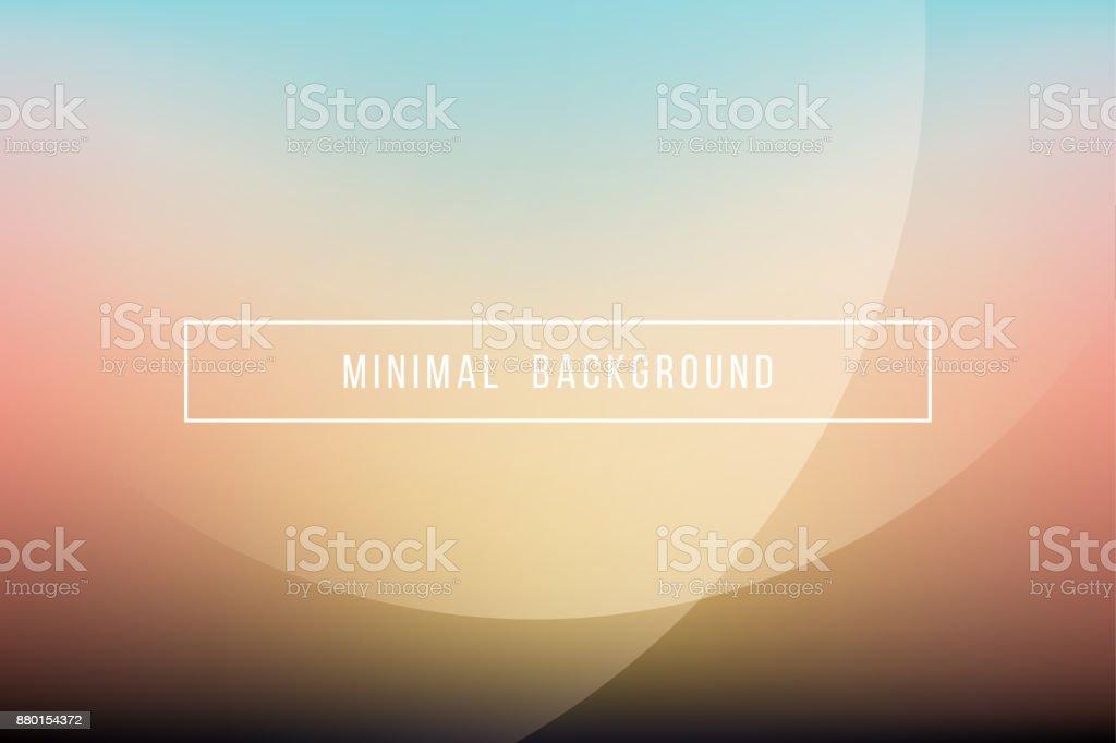Simple Elegant Line Art : Simple orange minimal modern elegant abstract vector background