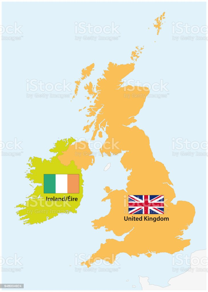 Simple Outline Map Of Ireland And United Kingdom With Flag ... on map of netherlands, map of european countries, map of japan, map of britain, map of british isles, map of dublin, map of skellig islands, map of denmark, map of united kingdom, map of ring of kerry, map of united states, map of prince edward island, map of eastern hemisphere, map of yugoslavia, map of northeast us, map of sweden, map of scotland, map of london, map of hong kong, map of philippines,