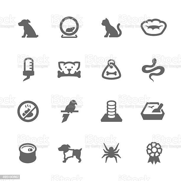 Simple pets icons vector id495490862?b=1&k=6&m=495490862&s=612x612&h=ixrgl4 lfbdsvrnpua1b9ybfuiudtcxksywywsbooek=