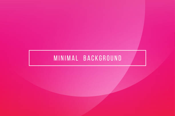 Simple Pink Minimal Modern Elegant Abstract Vector Background vector art illustration