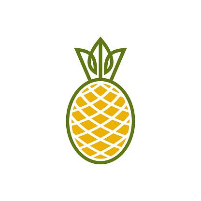 simple pinneaple icon