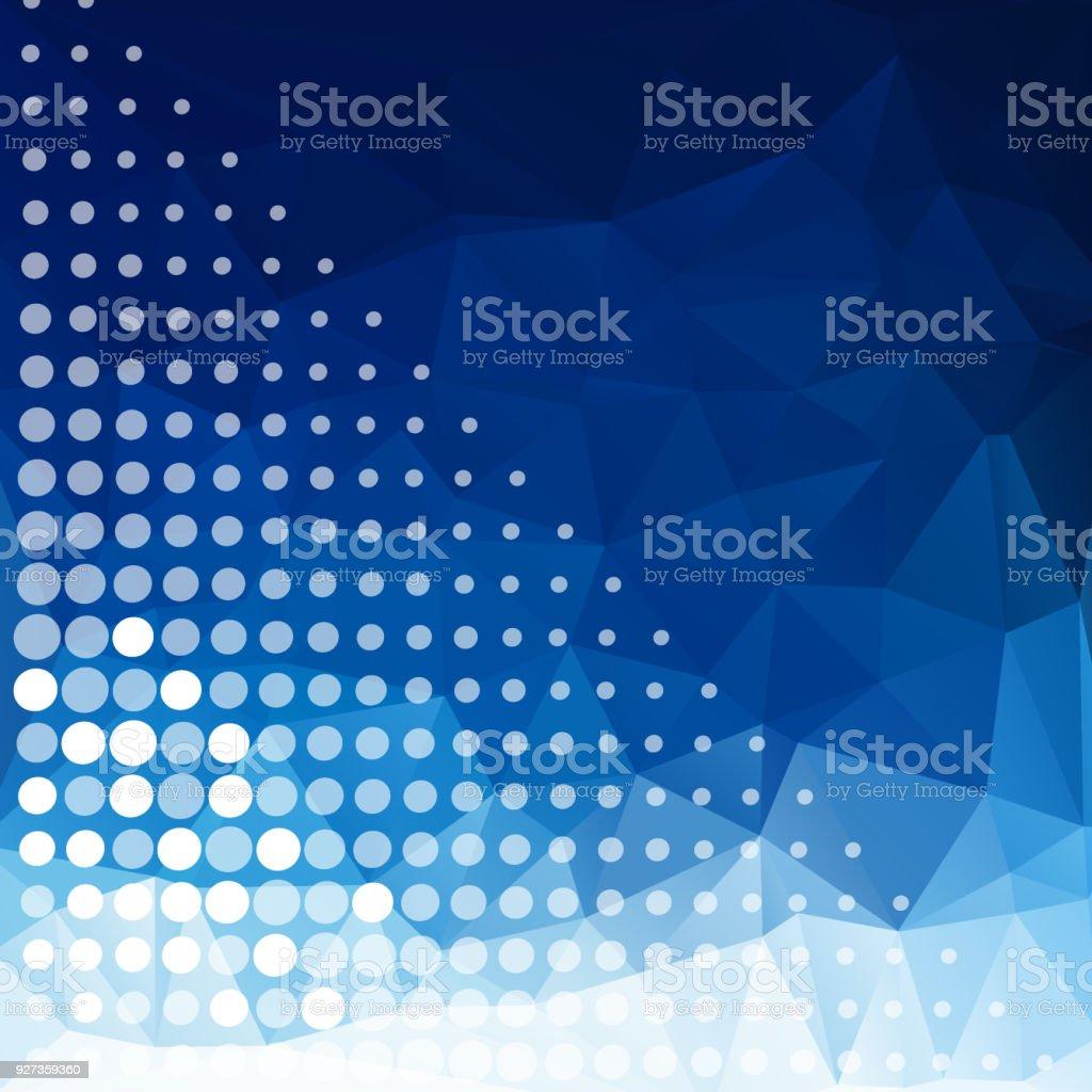 Einfache Pixel Design Mit Blauer Farbe Hintergrund Stock Vektor Art ...
