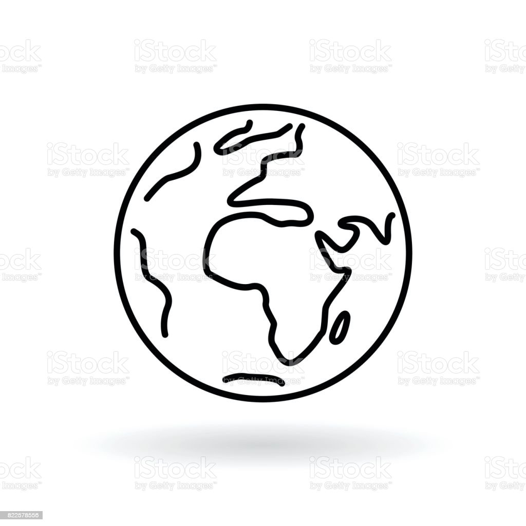 Simple planet icon earth sign world symbol stock vector art more simple planet icon earth sign world symbol royalty free simple planet icon buycottarizona Choice Image