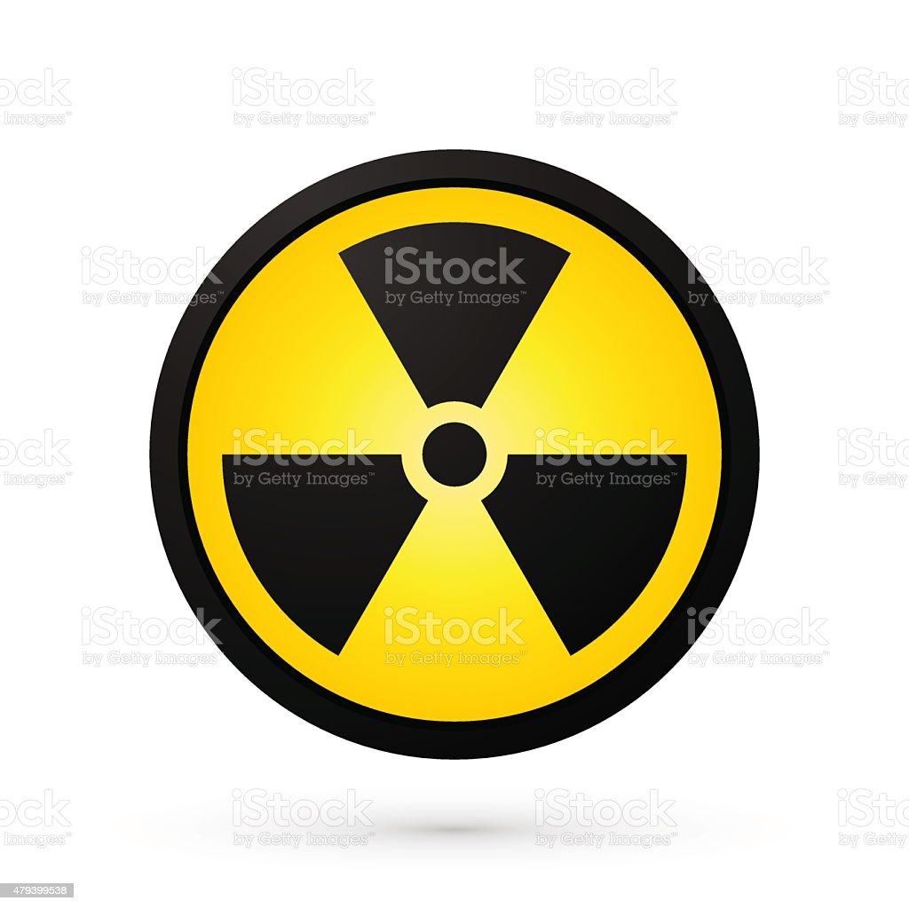 Simple Radioactivity Symbol Stock Vector Art More Images Of 2015