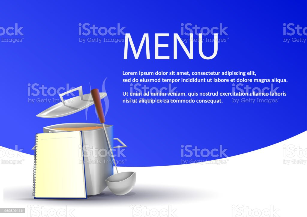 simple restaurant menu stock vector art more images of backgrounds
