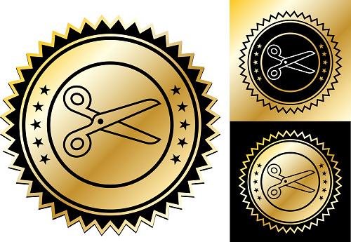 Simple Scissors Icon