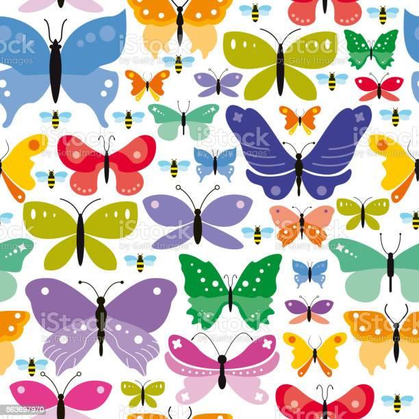 Simple seamless butterflies background vector id863697970?b=1&k=6&m=863697970&s=612x612&h=kutauzkgqoryytgddplh3llmylcgvj ordugz neeza=