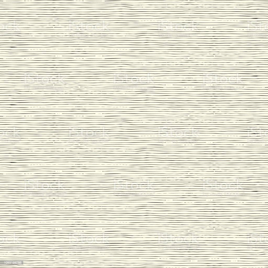 simple seamless pattern with hand drawn stripes - arte vettoriale royalty-free di Alla moda