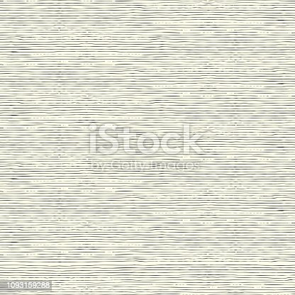 Abstract seamless vector background with hand drawn horizontal stripes. Endless ornament for wallpaper and wrapping paper, simple monochrome texture.