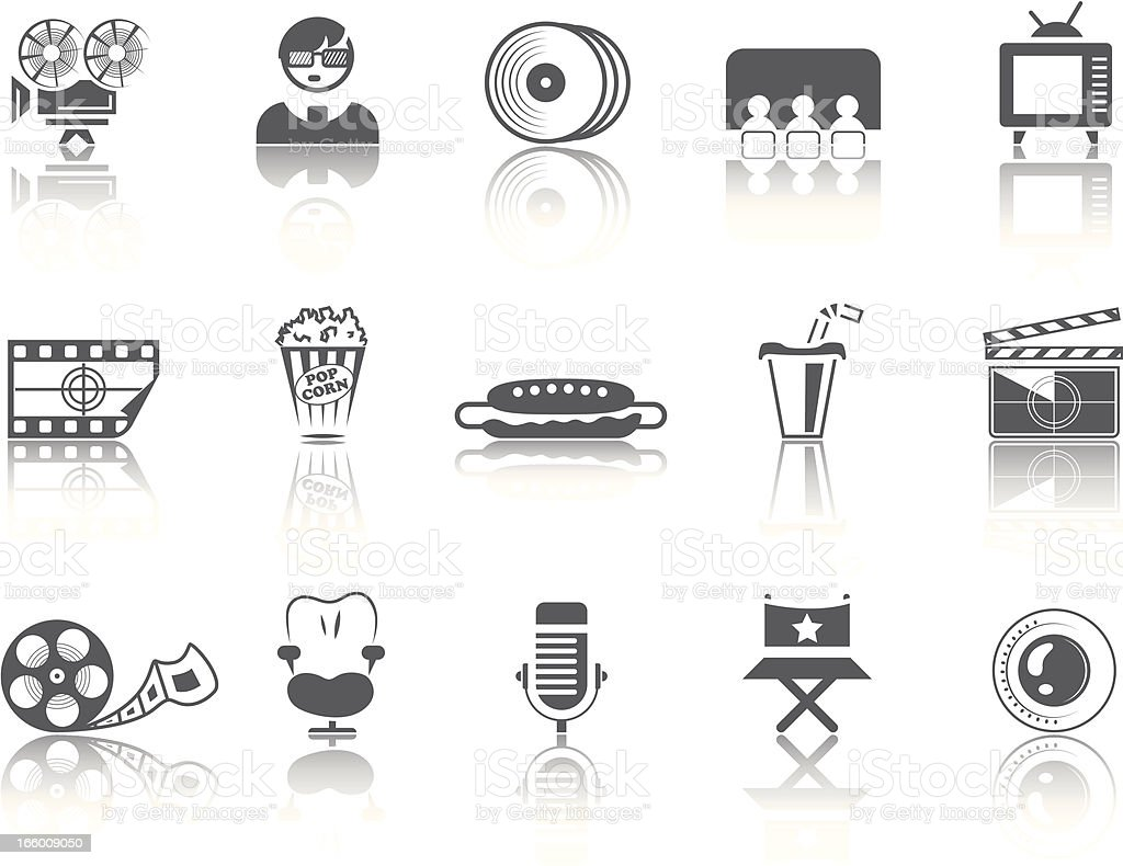 Simple SERIES – Movies royalty-free simple series movies stock vector art & more images of 3-d glasses