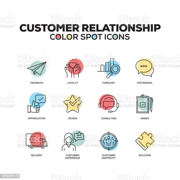 Simple set of customer relationship color vector line icons vector id875253170?b=1&k=6&m=875253170&s=612x612&h=cxact5w dy1sd9c a4vteq9mn4qnskvqwpiywxdnq2u=