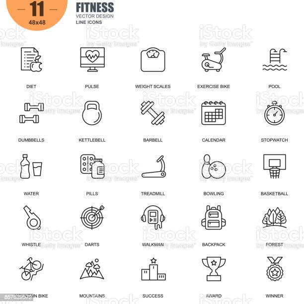Simple set of fitness related vector line icons vector id857839572?b=1&k=6&m=857839572&s=612x612&h=mghib ze6olft1yc07yk2wu8udxjbkieqhkaly6iekq=