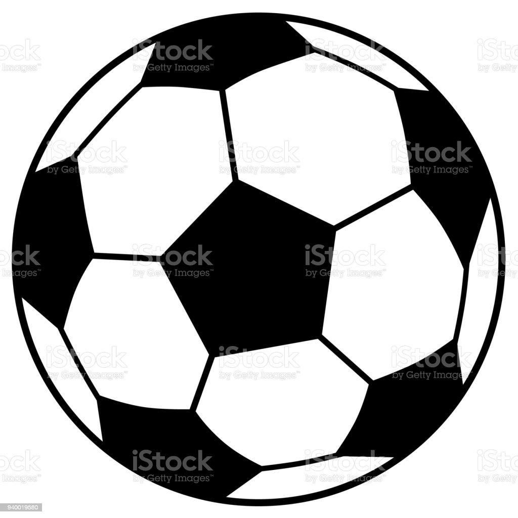 Einfache Fussball Stock Vektor Art Und Mehr Bilder Von