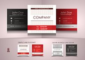 Simple square business card design. Design is available in EPS10 file format and high quality JPEG file.