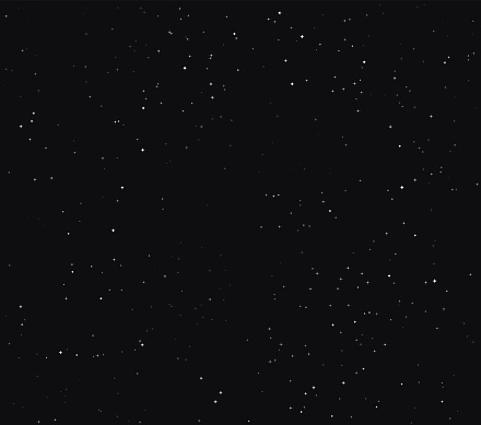 Simple Stars Space Stock Vector Background