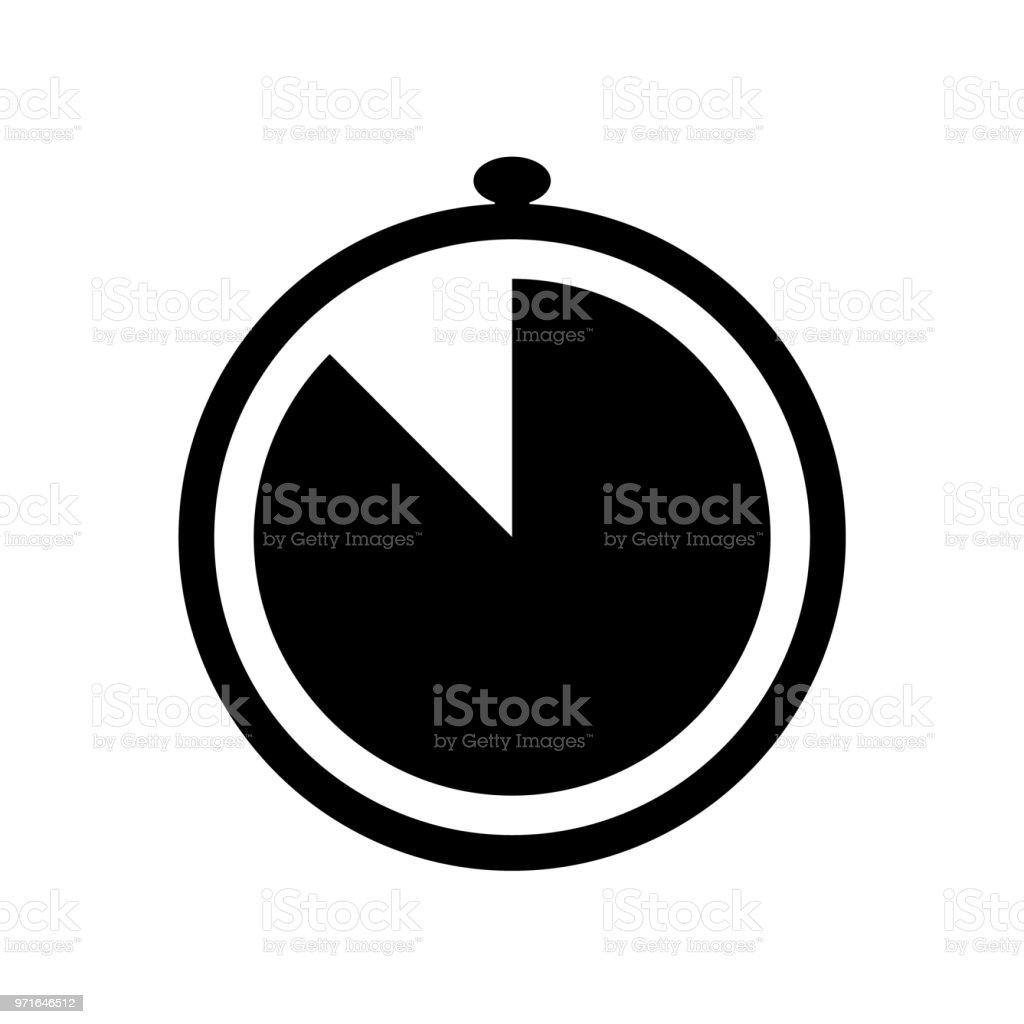 a27ad435bdb Ícone de cronômetro simples ilustração de Ícone de cronômetro simples e  mais banco de imagens de