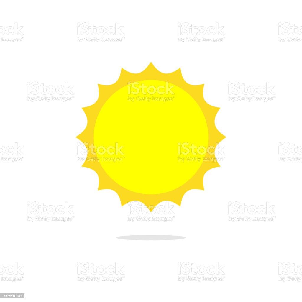 Basit Güneş Vektör Stok Vektör Sanatı Aydınlıknin Daha Fazla