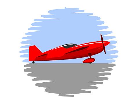 simple symbol sports plane