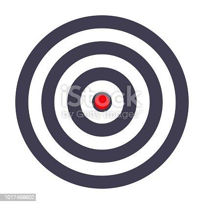 simple target template bullseye symbol stock vector art more