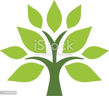 istock Simple tree 175004825