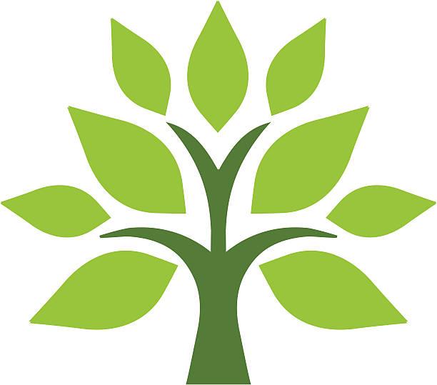 Einfache tree – Vektorgrafik