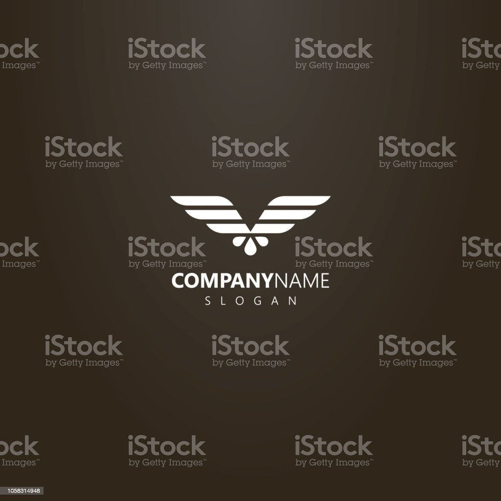 simple vector flat art logo of abstract geometric eagle wings stock illustration download image now istock simple vector flat art logo of abstract geometric eagle wings stock illustration download image now istock