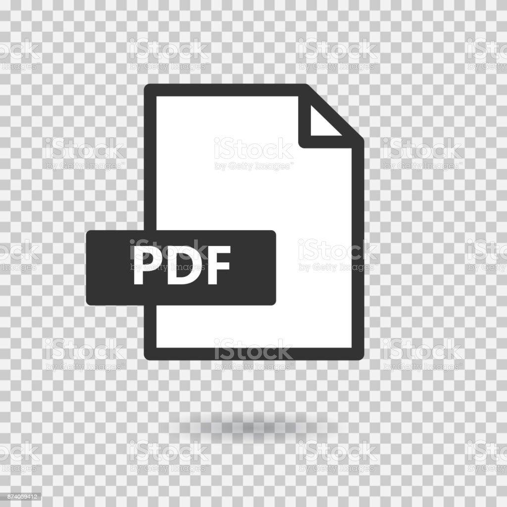Pdf Simple Vector Icon On Transparent Background Loading Format File Circuit Board Ai Free Graphics Download Royalty