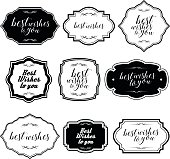 Vector of black and white color Simple Vintage Frames and Design Elements. EPS ai 10 file format.